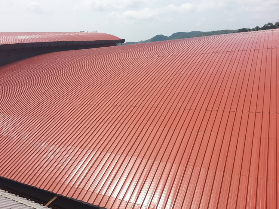 Colour Coated Roofing Sheet Bigspan