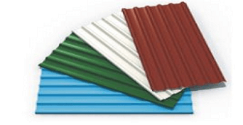 colour coated metal roofing sheets