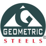 geometric steel logo