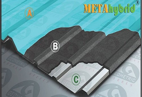 METAhybrid Thermal Insulated Roofing Sheet